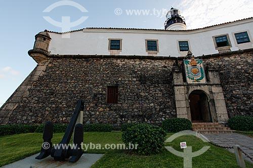 Entrada do Forte de Santo Antônio da Barra (1702)  - Salvador - Bahia (BA) - Brasil