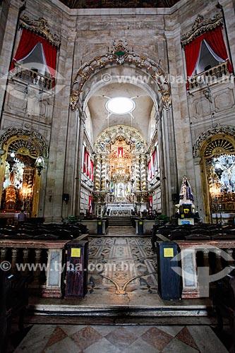 Interior da Basílica Nossa Senhora da Conceição da Praia (1849)  - Salvador - Bahia (BA) - Brasil