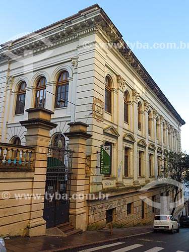Fachada do Colégio Estadual Paula Soares (1927)  - Porto Alegre - Rio Grande do Sul (RS) - Brasil