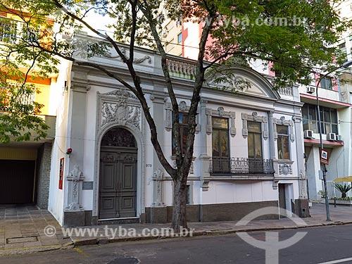 Fachada da Pinacoteca Ruben Berta (1893)  - Porto Alegre - Rio Grande do Sul (RS) - Brasil