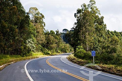 Trecho da Rodovia BR-262 próximo à cidade de Venda Nova do Imigrante  - Venda Nova do Imigrante - Espírito Santo (ES) - Brasil