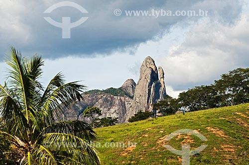 Vista geral do Pico dos Três Pontões  - Afonso Cláudio - Espírito Santo (ES) - Brasil