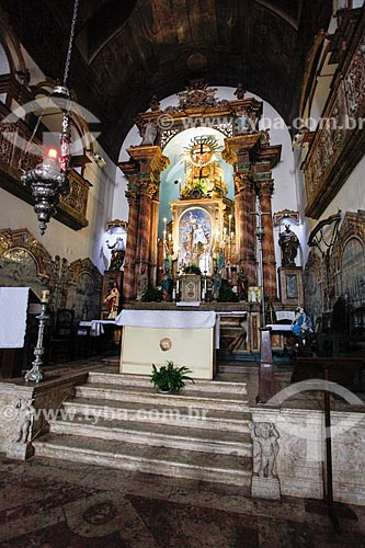 Altar da Igreja de Nossa Senhora do Rosário dos Pretos (século XVIII)  - Salvador - Bahia (BA) - Brasil