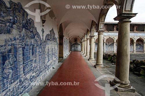 Interior do cláustro do Convento e Igreja de São Francisco (Século XVIII)  - Salvador - Bahia (BA) - Brasil