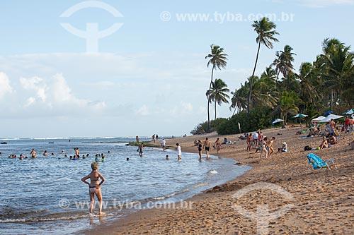 Orla da Praia das Piscinas do Lorde  - Mata de São João - Bahia (BA) - Brasil