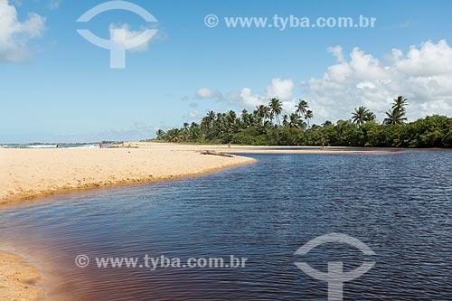 Orla do Rio Timeantube  - Mata de São João - Bahia (BA) - Brasil