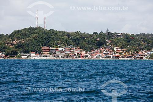 Vista geral da 1ª Praia  - Cairu - Bahia (BA) - Brasil