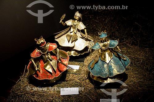 Imagens de Orixás expostos na Exposição (Maria de Todos Nós) em homenagem à Maria Bethânia  - Rio de Janeiro - Rio de Janeiro (RJ) - Brasil