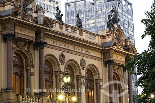 Teatro Municipal de São Paulo (1911)   - São Paulo - São Paulo (SP) - Brasil