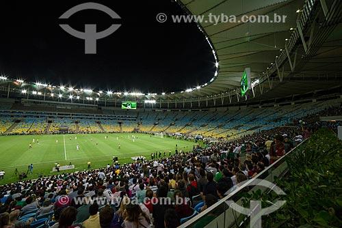 Evento-teste do Estádio Jornalista Mário Filho - também conhecido como Maracanã - jogo entre amigos de Ronaldo Fenômeno x amigos de Bebeto que marca a reabertura do estádio  - Rio de Janeiro - Rio de Janeiro (RJ) - Brasil