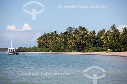 Vista da 4ª Praia  - Cairu - Bahia (BA) - Brasil