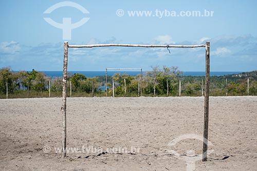 Campo de futebol  - Cairu - Bahia (BA) - Brasil