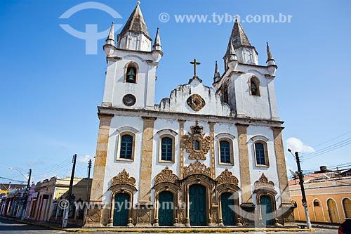 Fachada Igreja de São Gonçalo Garcia dos Homens Pardos (1759)  - Penedo - Alagoas (AL) - Brasil