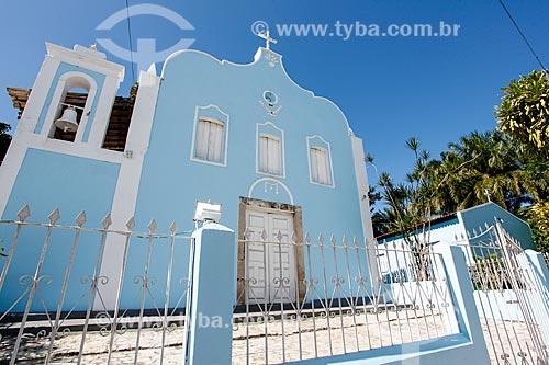 Igreja do Divino Espírito Santo de Velha Boipeba  - Cairu - Bahia (BA) - Brasil