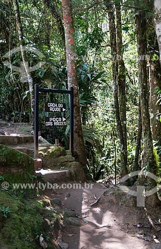 Trilha para cachoeiras no Vale do Alcantilado  - Bocaina de Minas - Minas Gerais (MG) - Brasil