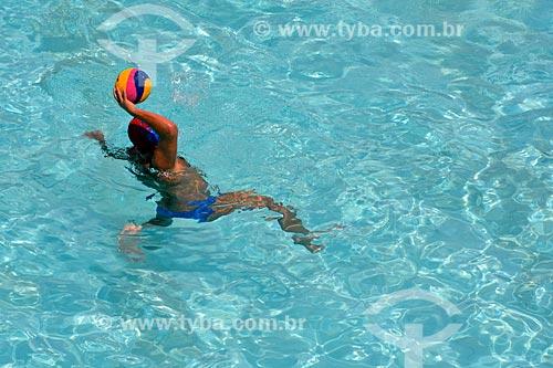 Jogador de Pólo Aquático  - Rio de Janeiro - Rio de Janeiro (RJ) - Brasil