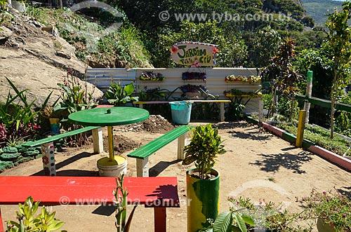 Jardim Parada do Céu - Morro do Cantagalo  - Rio de Janeiro - Rio de Janeiro (RJ) - Brasil