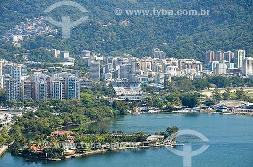 Vista do Clube dos Caiçaras  - Rio de Janeiro - Rio de Janeiro (RJ) - Brasil