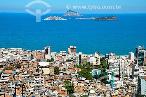 Favelas do Cantagalo, Pavão e Pavãozinho  - Rio de Janeiro - Rio de Janeiro (RJ) - Brasil