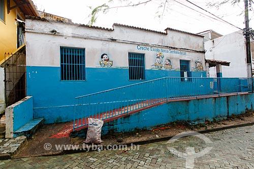 Creche Escola Nossa Senhora da Luz no Morro de São Paulo  - Cairu - Bahia (BA) - Brasil