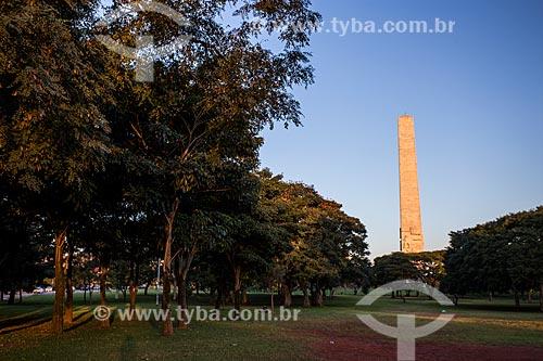 Monumento aos heróis de 32 (1965) - guarda os corpos dos estudantes Martins, Miragaia, Dráusio e Camargo (o M.M.D.C.) mortos durante a Revolução Constitucionalista de 1932  - São Paulo - São Paulo (SP) - Brasil