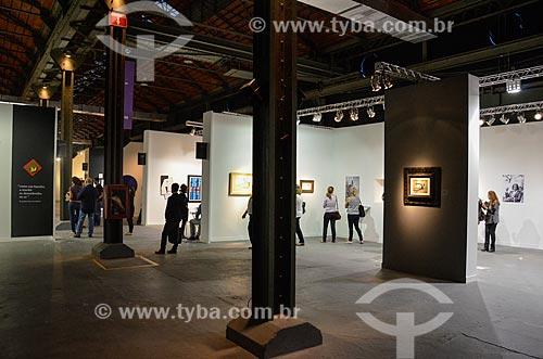 Exposição no Píer Mauá durante o ArtRio 2015  - Rio de Janeiro - Rio de Janeiro (RJ) - Brasil