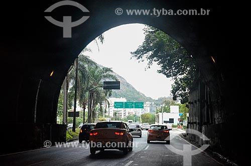 Saída do Túnel Rebouças  - Rio de Janeiro - Rio de Janeiro (RJ) - Brasil