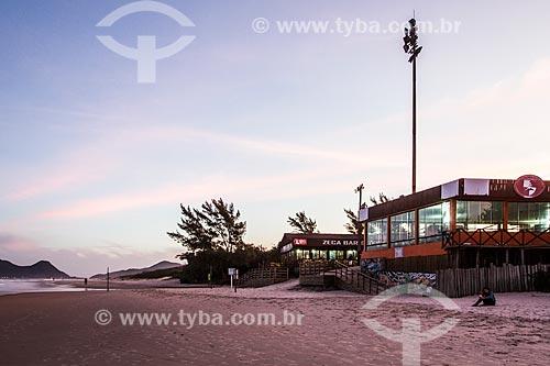 Restaurante na orla da Praia do Campeche  - Florianópolis - Santa Catarina (SC) - Brasil