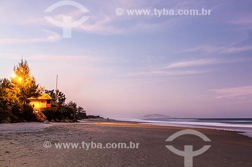 Orla da Praia do Campeche  - Florianópolis - Santa Catarina (SC) - Brasil