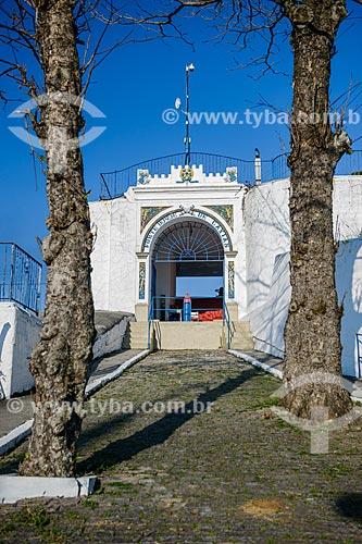 Entrada do Forte Duque de Caxias - também conhecido como Forte do Leme  - Rio de Janeiro - Rio de Janeiro (RJ) - Brasil