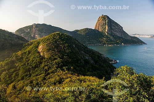 Vista do Pão de Açúcar a partir do Forte Duque de Caxias - também conhecido como Forte do Leme  - Rio de Janeiro - Rio de Janeiro (RJ) - Brasil