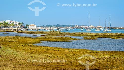 Marina na freguesia de Santa Luzia  - Concelho de Tavira - Distrito de Faro - Portugal