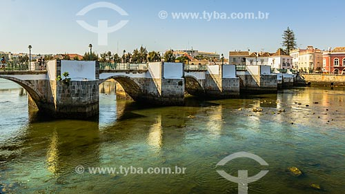 Ponte Romana sobre o Rio Gilão  - Concelho de Tavira - Distrito de Faro - Portugal