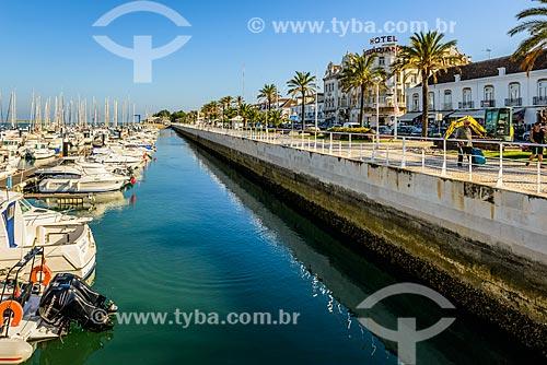 Marina no Rio Guadiana  - Vila Real de Santo António - Distrito de Faro - Portugal