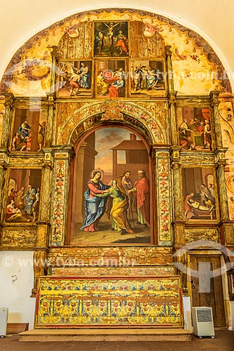 Pintura no interior da Igreja da Misericórdia de Silves  - Concelho de Silves - Distrito de Faro - Portugal