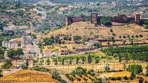 Vista do Castelo de Silves (XIII century)  - Concelho de Silves - Distrito de Faro - Portugal