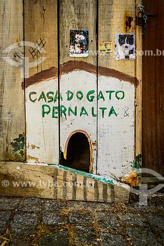 Casa do gato Pernalta  - Concelho de Monchique - Distrito de Faro - Portugal