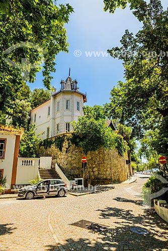 Rua na freguesia de Caldas de Monchique  - Concelho de Monchique - Distrito de Faro - Portugal