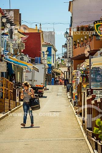 Rua na freguesia de Alvor  - Concelho de Portimão - Distrito de Faro - Portugal