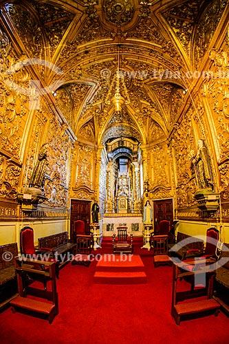 Interior da capela lateral da Basílica Sé de Nossa Senhora da Assunção (1250)  - Concelho de Évora - Distrito de Évora - Portugal