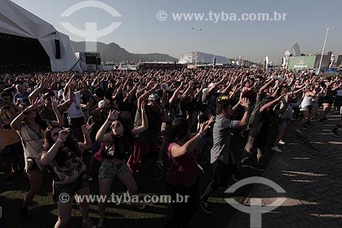 Público durante o Rock in Rio 2015  - Rio de Janeiro - Rio de Janeiro (RJ) - Brasil