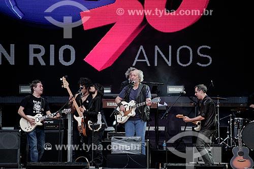 Erasmo Carlos e Ultraje a Rigor durante show no Palco Sunset - Rock in Rio 2015  - Rio de Janeiro - Rio de Janeiro (RJ) - Brasil