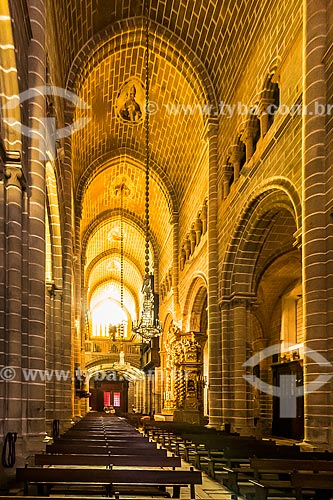 Interior da Basílica Sé de Nossa Senhora da Assunção (1250)  - Concelho de Évora - Distrito de Évora - Portugal