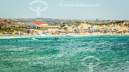 Praia na Península de Baleal  - Concelho de Peniche - Distrito de Leiria - Portugal