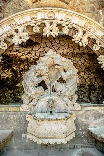 Fonte na Quinta da Regaleira  - Concelho de Sintra - Distrito de Lisboa - Portugal