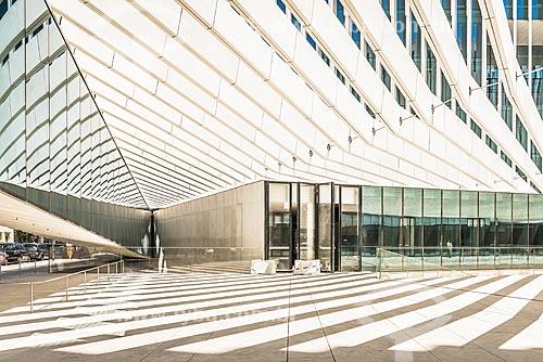 Nova sede da Energias de Portugal - concessionária de serviços de transmissão de energia  - Lisboa - Distrito de Lisboa - Portugal