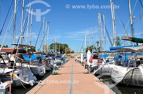 Barcos na Marina da Glória  - Rio de Janeiro - Rio de Janeiro (RJ) - Brasil