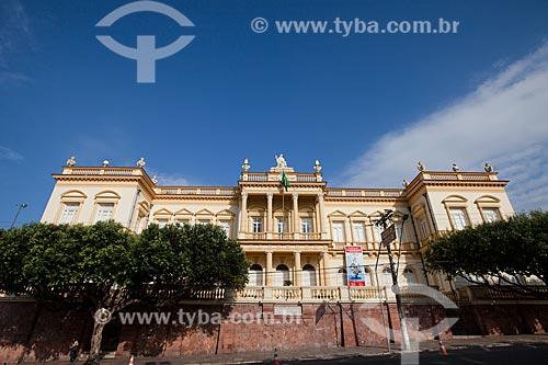 Fachada do Palácio da Justiça (1900) - sede do Tribunal de Justiça de Manaus  - Manaus - Amazonas (AM) - Brasil