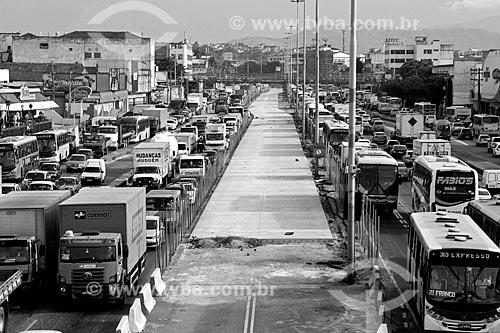 Obras para implantação do BRT Transbrasil na Avenida Brasil  - Rio de Janeiro - Rio de Janeiro (RJ) - Brasil
