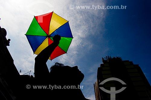 Desfile do bloco de carnaval de rua Frevo Prato Misterioso  - Rio de Janeiro - Rio de Janeiro (RJ) - Brasil